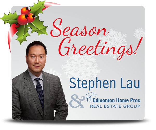 Seasons Greetings from Stephen Lau